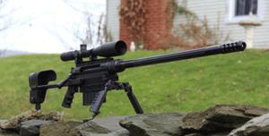 Accuracy International As50 Sniper Rifle