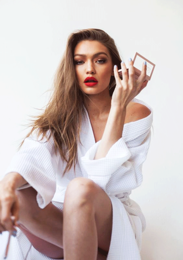Gigi hadid The Best Red Lipstick
