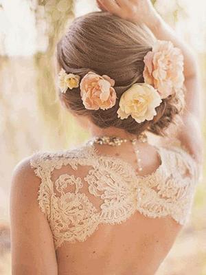 Best Bridal Hair & Hairstyles images
