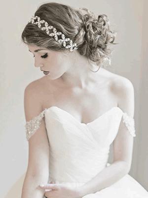 Prettiest Bridal Hairstyles From Real Weddings