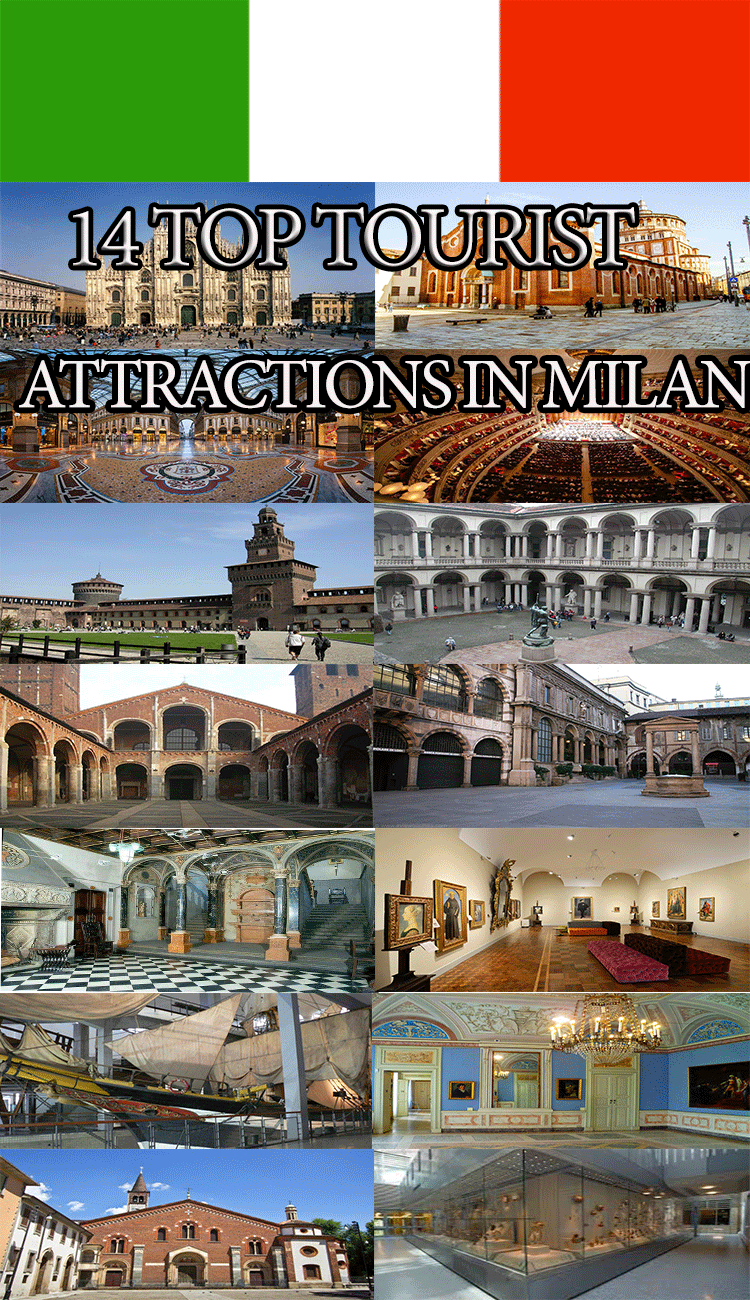 14 Tourist Attractions in Milan