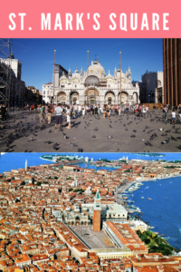 The vast expanse of Venice's largest square