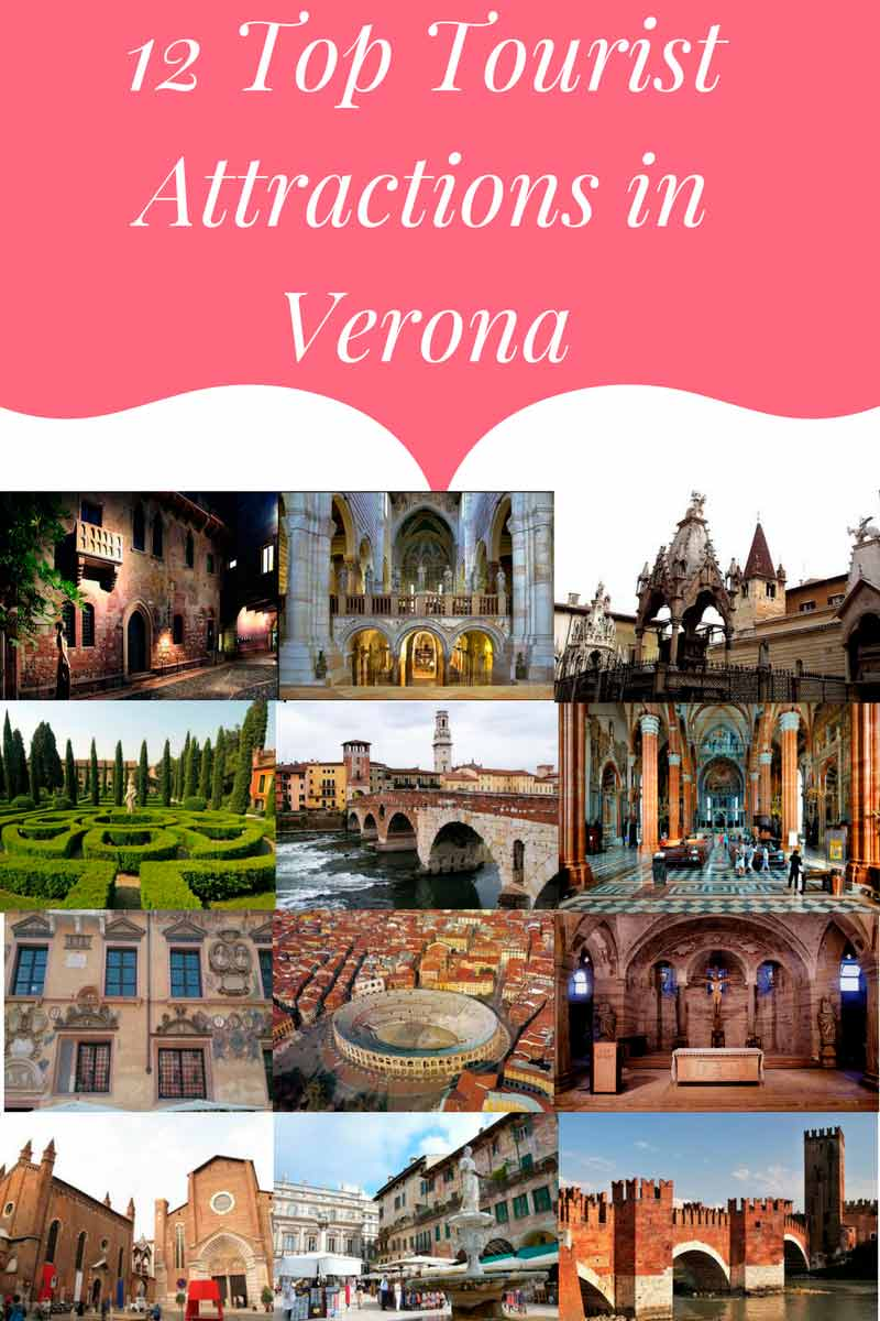 12  Tourist Attractions in Verona