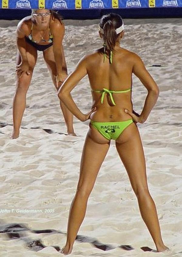 hot sexy Beach Volleyball Players Girls