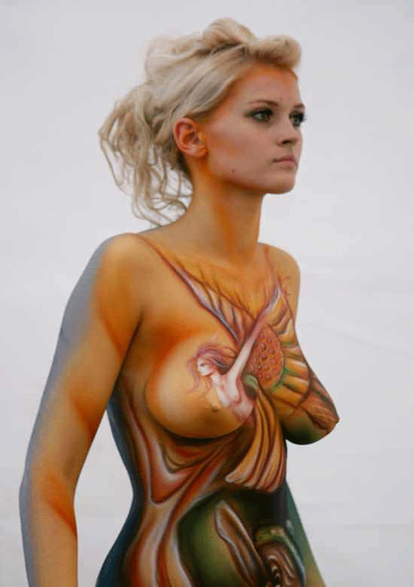 World's Best Female Body Painting