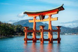 The Island Shrine of Itsukushima
