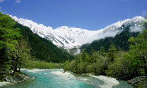 Chūbu-Sangaku National Park and the Japanese Alps