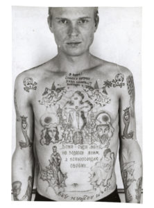 Tough Prison Style Tattoos and their Meanings