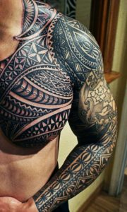 shoulder tattoos for men Temporary Body Art