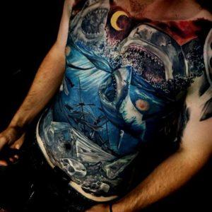 Best Chest Tattoos For Men Cool Ideas design