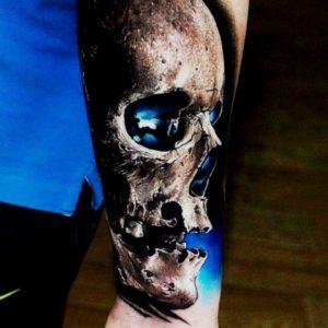 Skull hand  Tattoos design ideas For Men