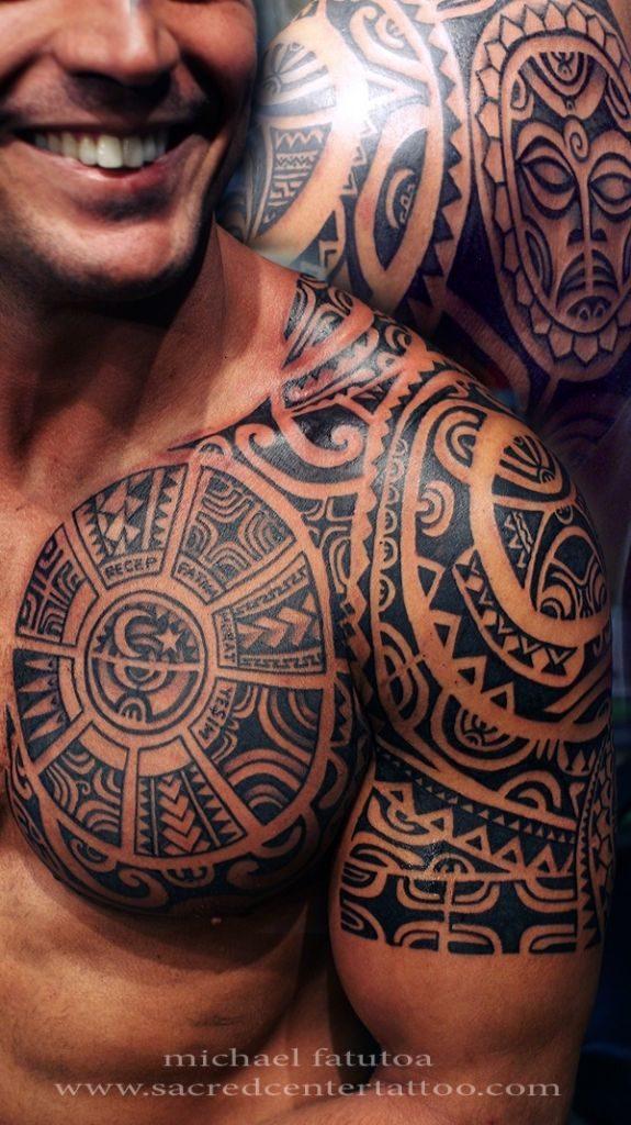 Men unique tribal tattoo designs