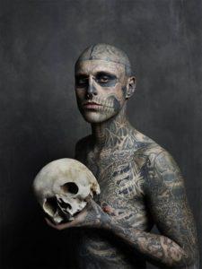 Skull Tattoos That Look Absolutely Menacing for men