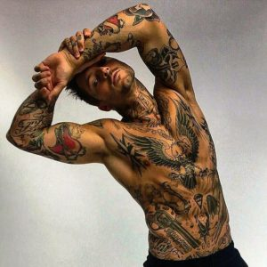 tattoos for men can be designed in many ways