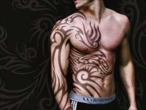 cool attractive and stunning body art