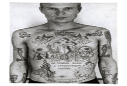 46 Prison Style Tattoo Designs