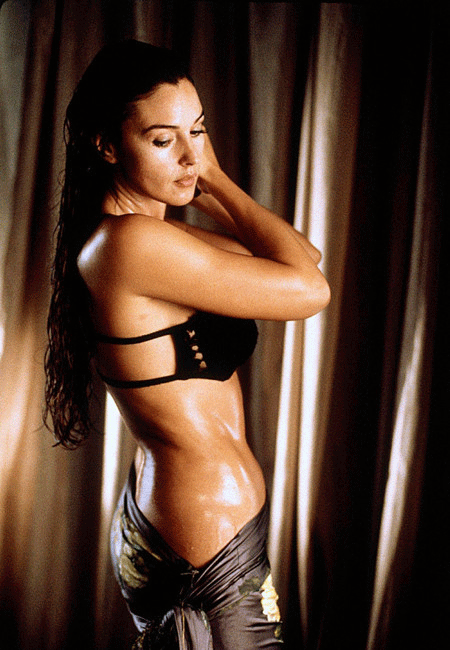 Monica Bellucci Poses in Body  Styles