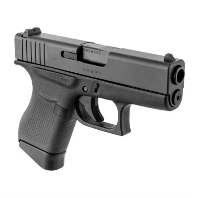 Glock 43- 9mm designed for concealed carry