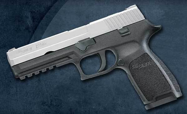 Sig Sauer P250 hammer-fired gun  great advantages