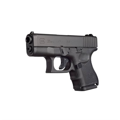 Glock 26 – 9mm  Women need a weapon they can count