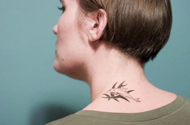 Attractive Back of Neck Tattoo Designs - For Creative