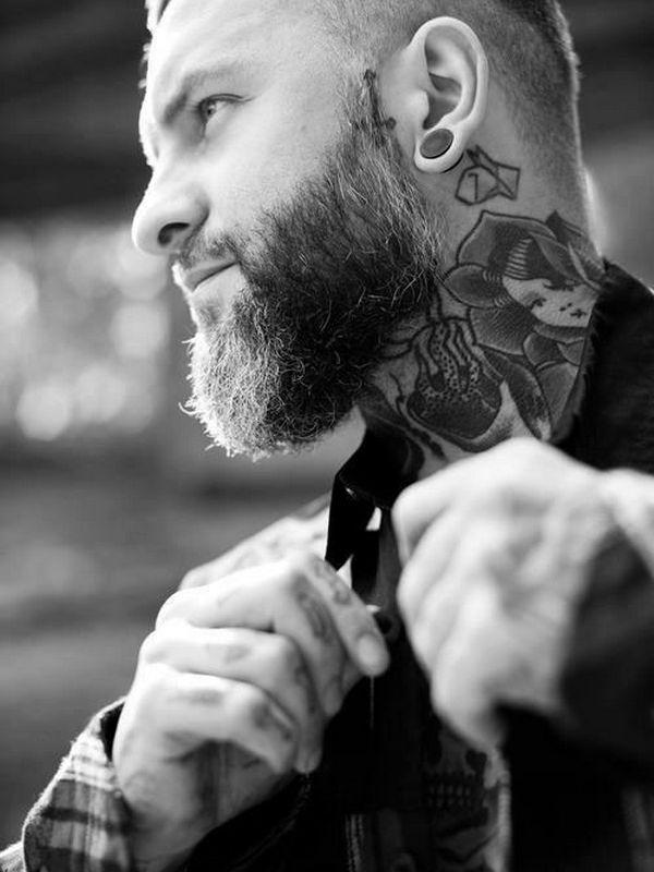 side  neck Tattoo Designs ideas