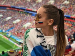 Most Beautiful Russian Female Fans at FIFA World Cup
