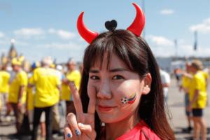 Find korean football women  images