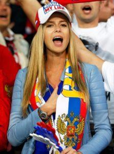 Football Fans Girls Russia Stock Photos ideas