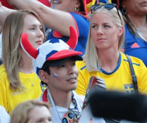sweden Female Fans football photo