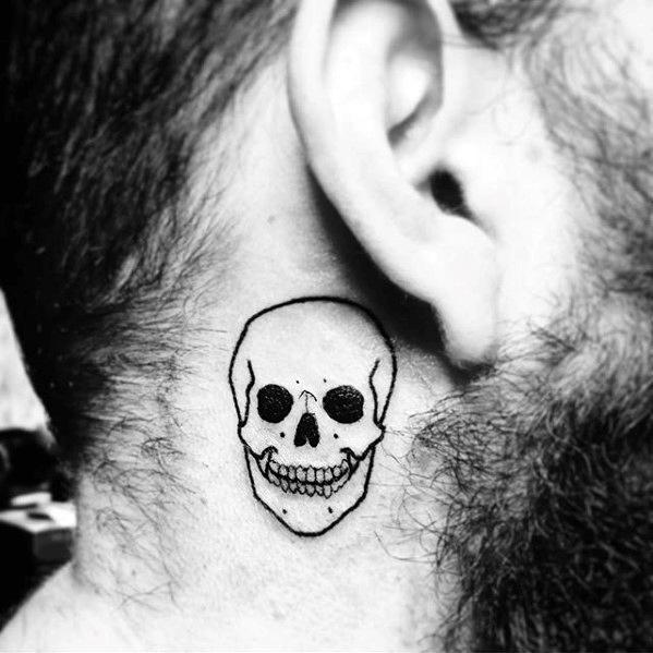 neck tattoos on guys