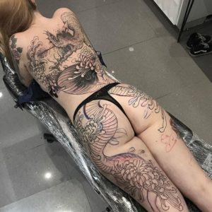 top ideas about Women Leg Tattoos