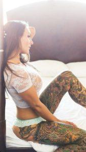 Best Female Tattoos Leg Designs images