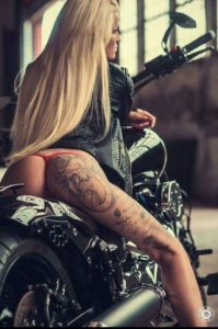 girl leg tattoos designs