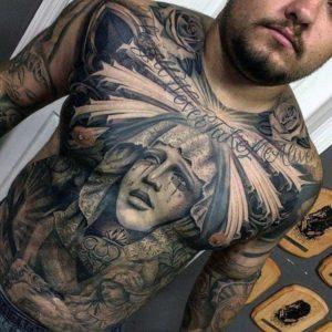 Gorgeous Stomach Tattoos - Design