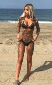 women's leg tattoos designs