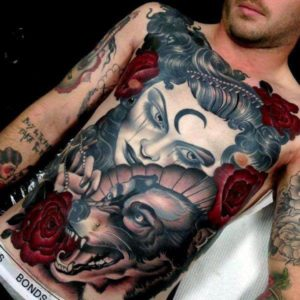 Top  Best Stomach Tattoos For Men