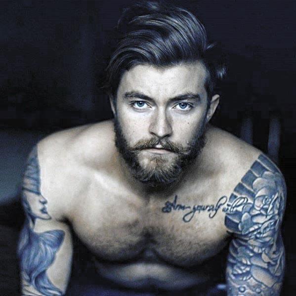 Do not just grow a short beard