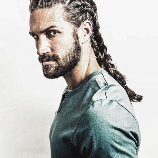 short hair and beard styles