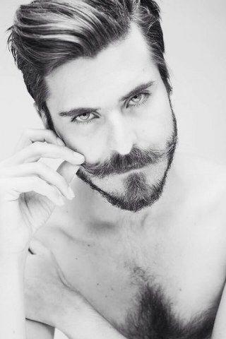 Create your preferred shape new small beard style