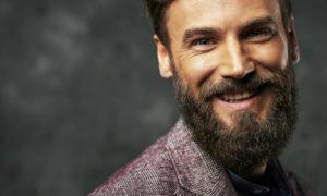 beard with short hair style