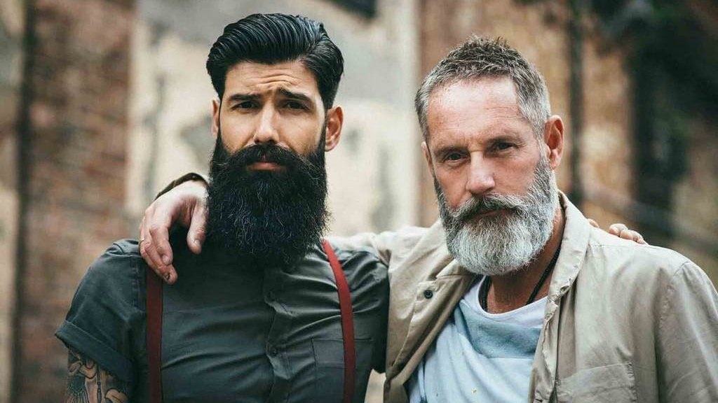 important point about growing facial hair
