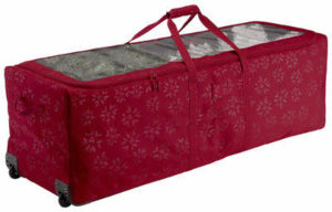 Classic Accessories Christmas Tree Rolling Storage Duffel