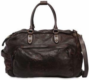 Leather Duffle Bag Trolley
