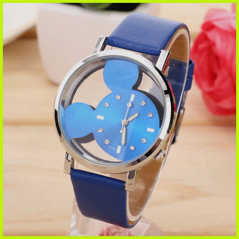 Korean version of the trend of fashion retro ladies watch simple casual belt