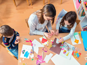 Taking time to be creative with your children
