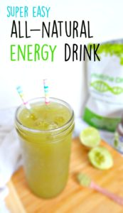 Super easy all natural energy drink