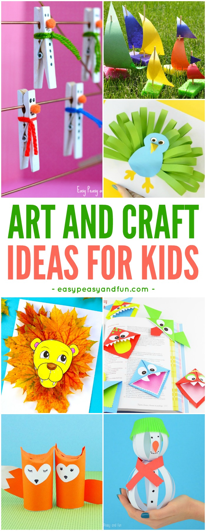 Crafts For Kids – Tons of Art and Craft