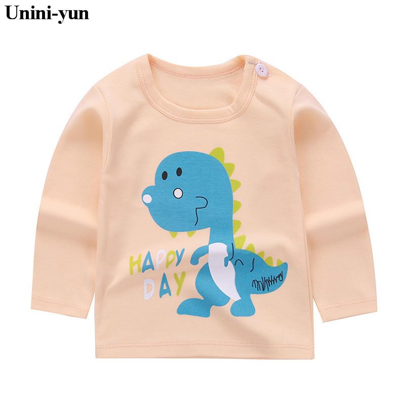 Retail Baby Girls Tops Children T shirts Long Sleeve 2018 Autumn