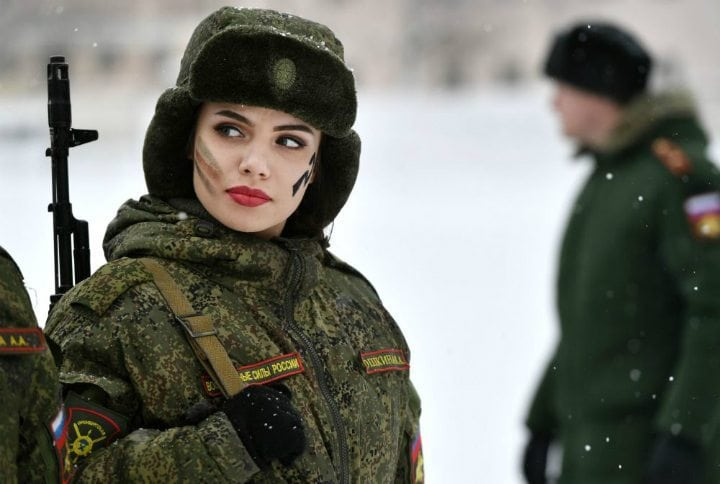 Women have been active in the Russian army